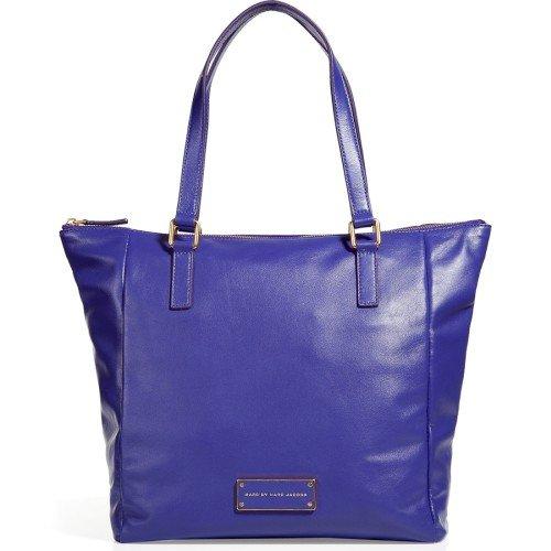 Marc Jacobs Tote Bag Leder Violett