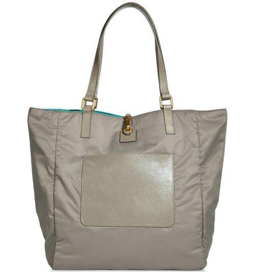Marc Jacobs Tote Bag Nylon Cement