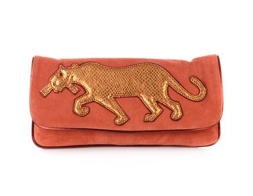 Marc by Marc Jacobs Clutch Panther Bronze Corall