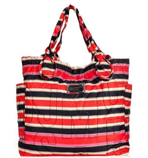 Marc Jacobs Pretty Medium Tote Bag Deep Navy Multicolor