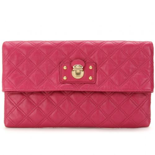 Marc Jacobs Large Eugenie Clutch Rot