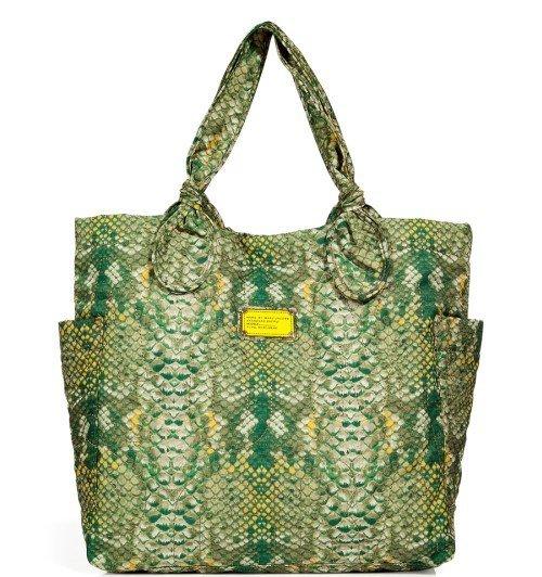 Marc Jacobs Pretty Medium Tote Bag Python Print Tasche