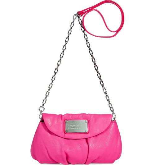 Marc Jacobs Blossom Classic Q Karlie Cross Body Tasche Pink