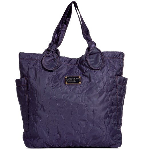 Marc Jacobs Pretty Medium Tote Bag Midnight Purple