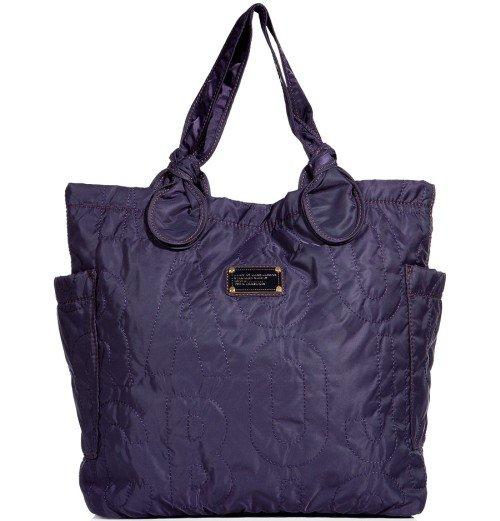 Marc Jacobs Pretty Medium Tote Bag Midnight Purple