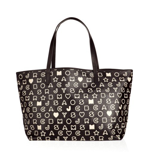 Marc Jacobs Eazy Tote Bag schwarzweiß
