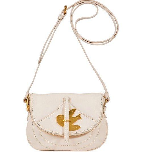 Tasche mit Friedenstaube von Marc Jacobs Shell Crossbody Pochette