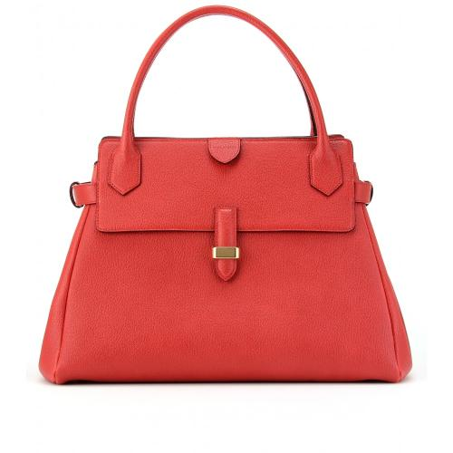 Marc Jacobs Small Camille Henkeltasche Aus Leder Gelb/Orange/Rot