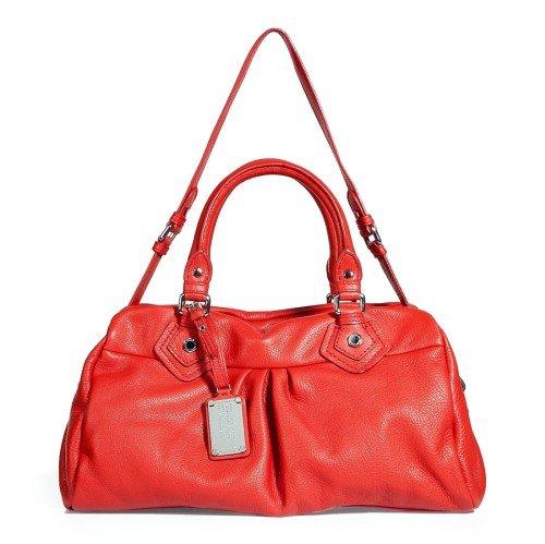 Marc Jacobs Tasche mit Tragegurt Cherry Red
