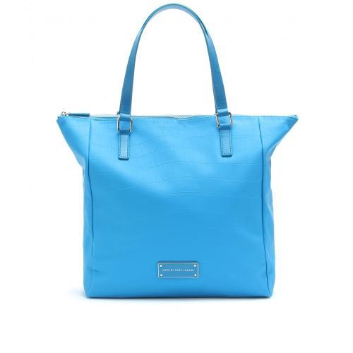 Marc Jacobs Tasche Krokoprägung Blau