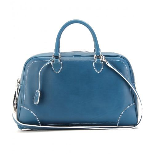Marc Jacobs The Venetia Ledertasche Blau