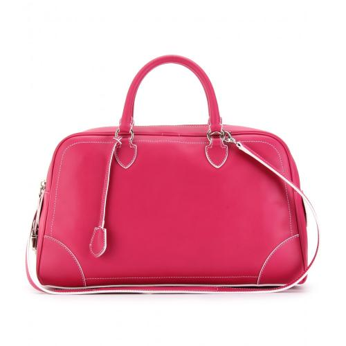 Marc Jacobs The Venetia Ledertasche Pink