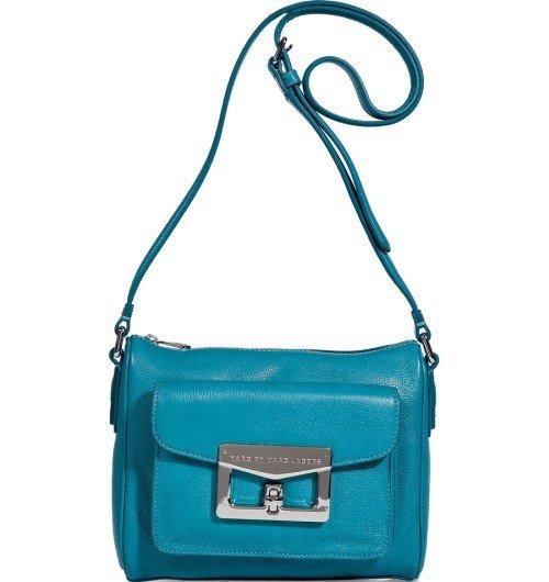 Marc Jacobs Vintage Blaue Schultertasche