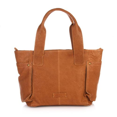 Marc O'Polo Klippan Shopper Cognac
