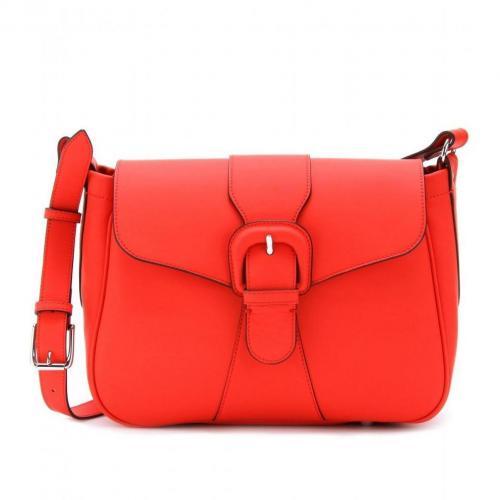 Marni Edition Schultertasche Aus Leder Hot Red
