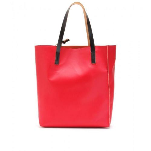 Marni Edition Two-Tone Leder-Shopper