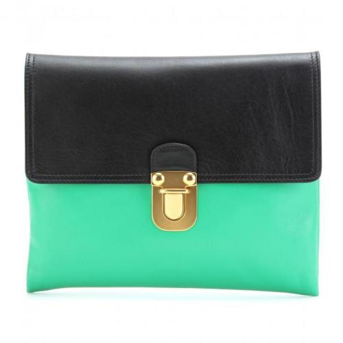 Marni Edition Zweifarbige Kuvertclutch