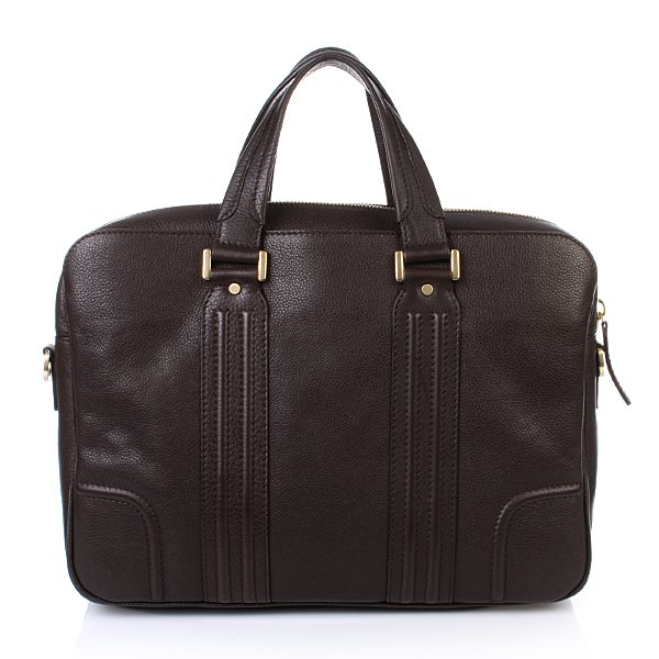 MCM Bonaventura Office Case Large Brown