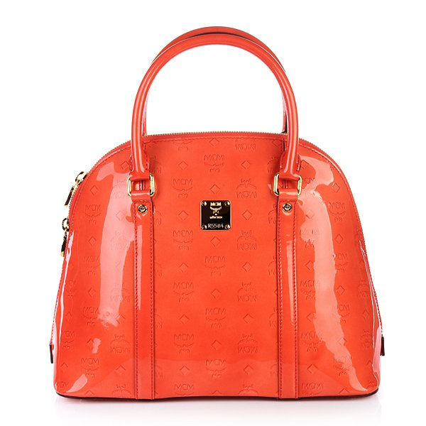Mcm tasche ivana greta medium orange for What does mcm the designer stand for