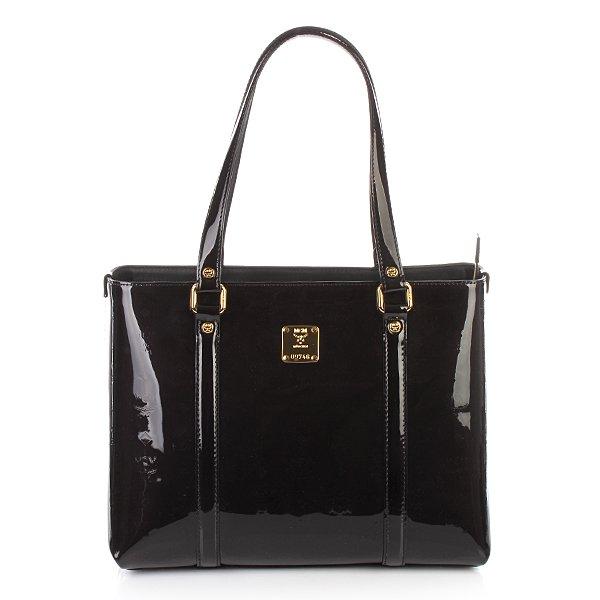 MCM Ivana Shopper Black Medium
