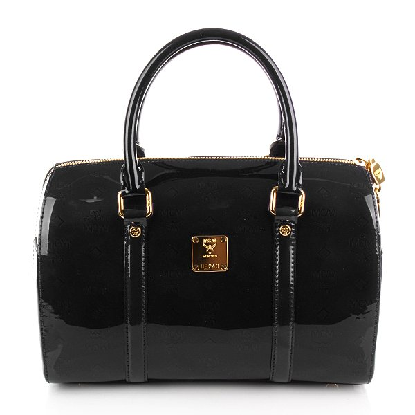 MCM Handtasche Ivana Boston Medium Black
