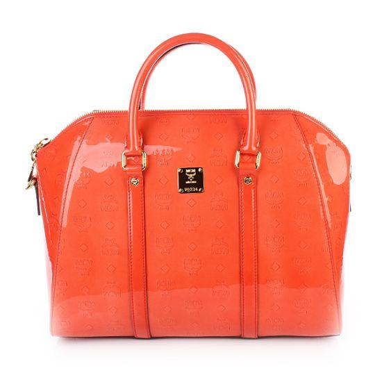 MCM Ivana Bowler Medium Orange