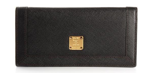 MCM Portemonnaie Sophia Flap Wallet Large Black