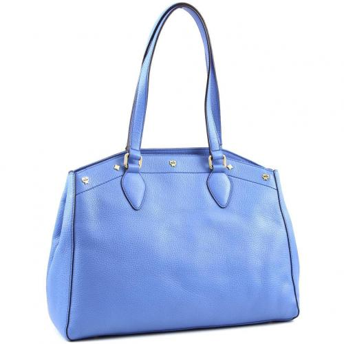 MCM First Lady M Shopper Leder blau