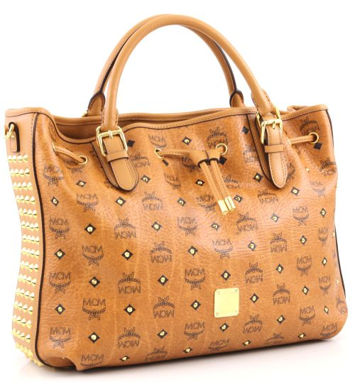 MCM Funk Rock Luxury Medium Shopper