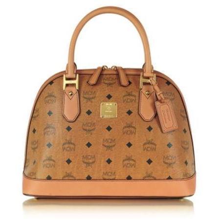 MCM Heritage - Mittelgroße Bowler-Tasche