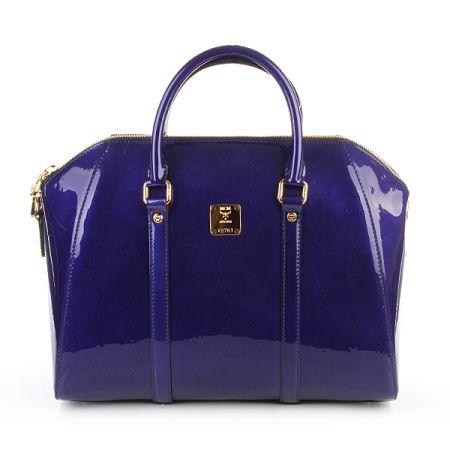 MCM Ivana Bowler Large Royal Blue