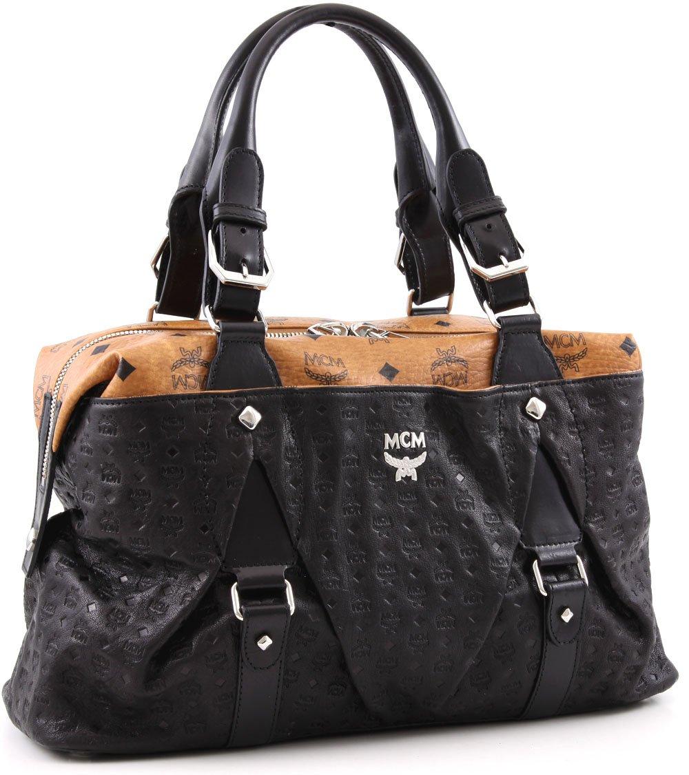 mcm ny trendy henkeltasche medium designer handtaschen paradies it bags burberry gucci. Black Bedroom Furniture Sets. Home Design Ideas