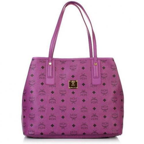 MCM Shopper Project Shopper Medium Purple