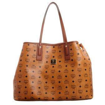 MCM Shopping Bag cognac