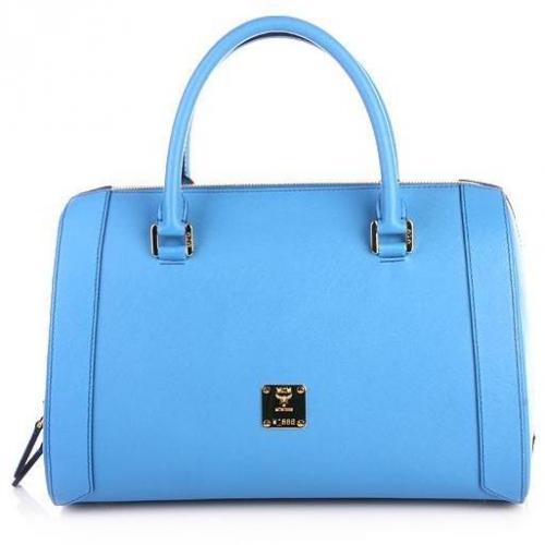 MCM Sophia Boston Medium Blue