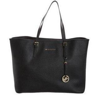 MICHAEL Michael Kors JET SET TRAVEL Shopping Bag schwarz
