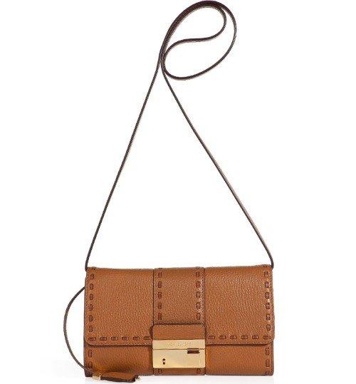 Michael Kors Barley Leder Clutch Bag
