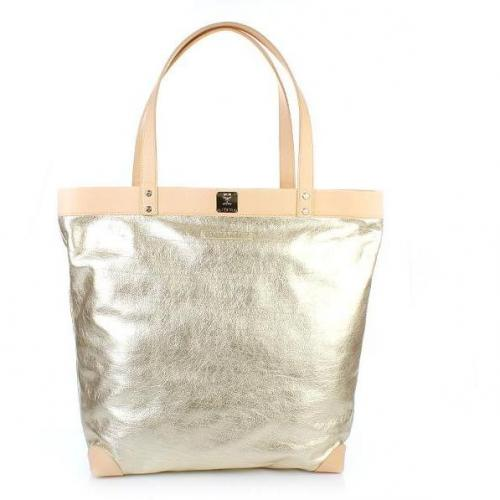 Michalsky Metallic Shopper Gold