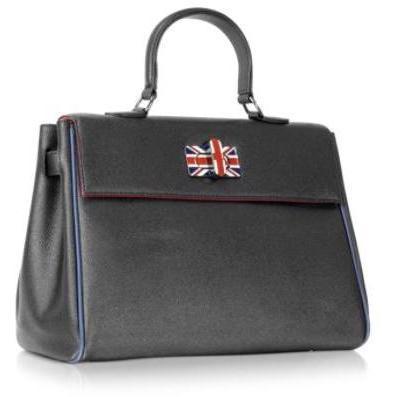 MINI Union Jack - Schwarze Handtasche