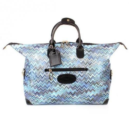 Missoni by Bric's Missoni Holdall Blue Medium