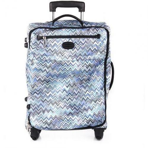 Missoni by Bric's Missoni Nylon Trolley blue big