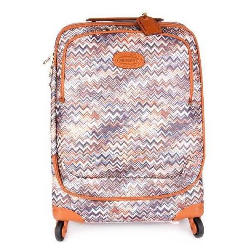 Missoni by Bric's Missoni Trolley Zig Zag Tabak Small
