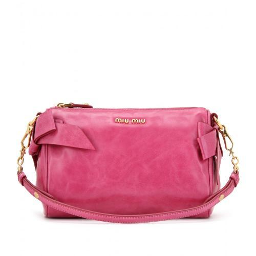 Miu Miu Tasche Rosa mit Schleife