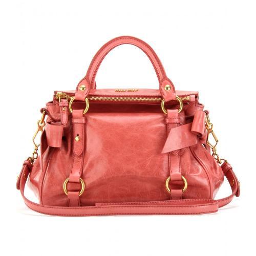 Miu Miu Tasche mit Schleifendetails Rosa