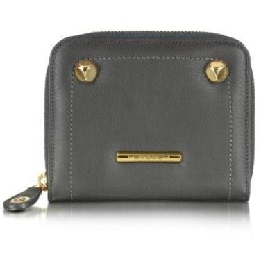 Moreschi Portemonnaie aus Leder mit Logo