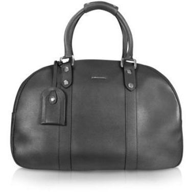 Moreschi Reisetasche aus Leder Modell New Boston