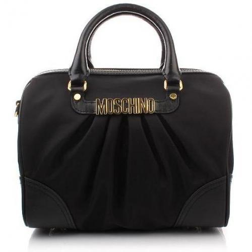 Moschino Bowling Bag Black Small
