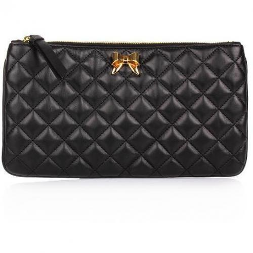 Moschino cheap and chic Clutch Black Gold