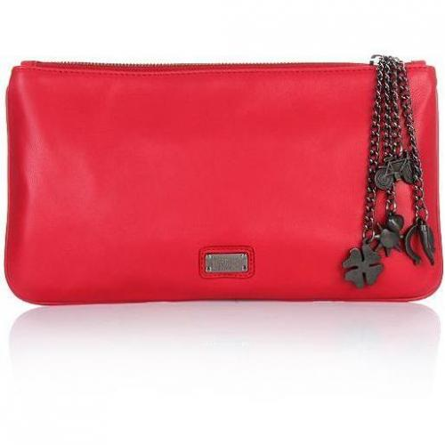 Moschino cheap and chic Clutch Red