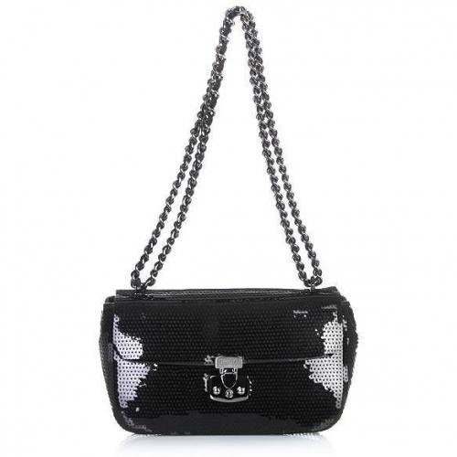 Moschino cheap and chic Pochette Sequins Black